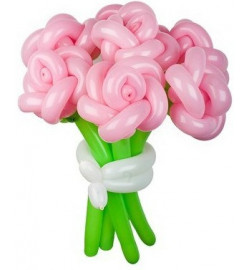 Розы из шаров